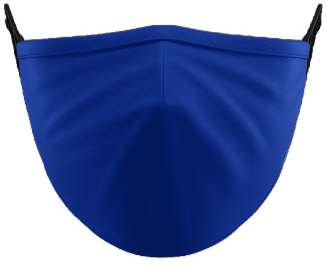 Plain Royal Facemask