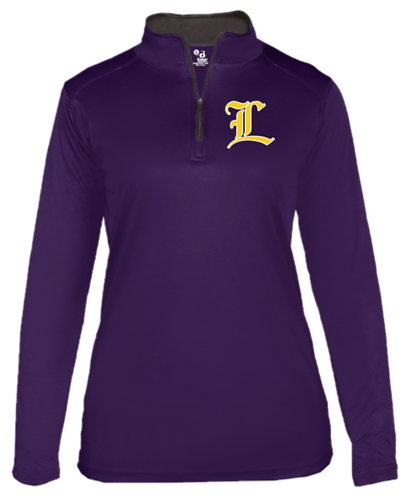 "Lutcher 1/4 Zip ""L"" only - Ladies"