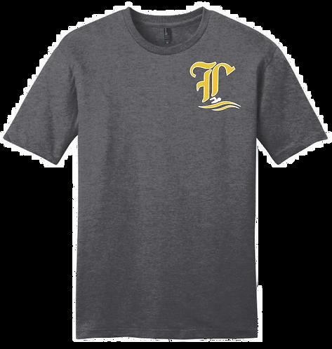 Lutcher Swim Team Short Sleeve Youth T-shirt (gray only)