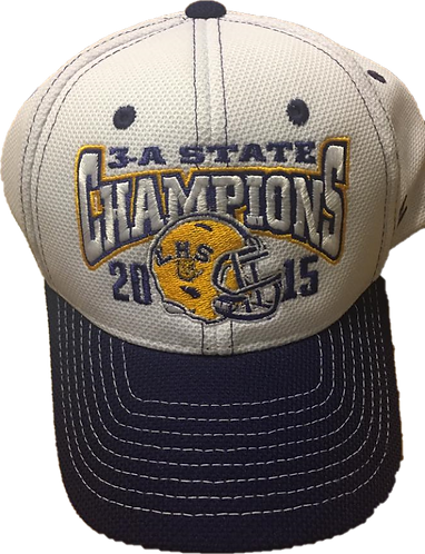 Lutcher Bulldogs - 2015 State Champion Hat