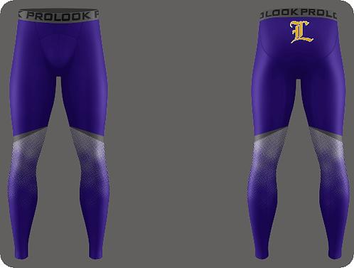Lutcher Football Compression Full Length Pants