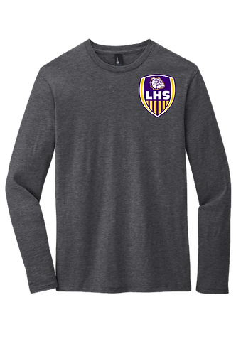"Lutcher ""Soccer Shield"" Long Sleeve Cotton Tee"