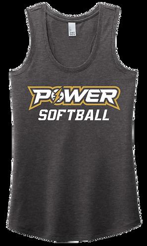 Power Softball Racerback Tee