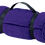 Thumbnail: Purple Fleece Blanket with Strap - TLB - w embroidered L