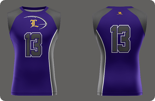 Lutcher Football Compression - Sleeveless