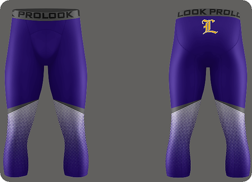 Lutcher Football Compression 3/4 Length Pants