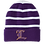 "Thumbnail: Lutcher ""L"" Striped Beanie"