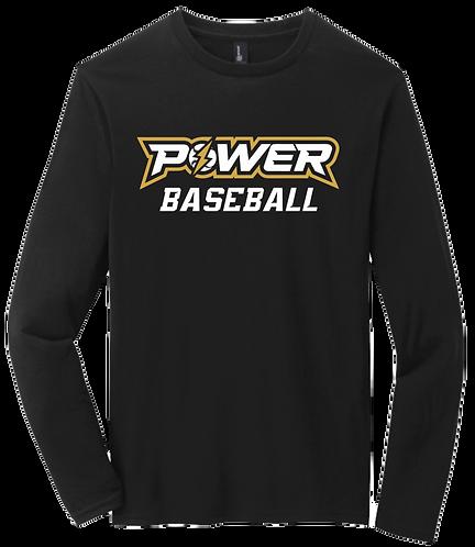 Power Baseball LS Tee