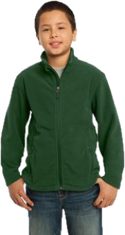 GES Youth Fleece Jacket - Embroidered