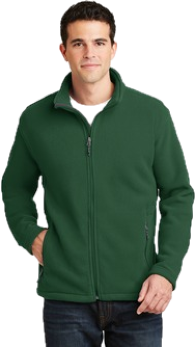 Adult Fleece Jacket - Embroidered