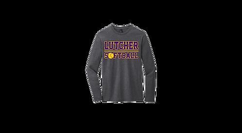 """Lutcher Softball"" Long Sleeve Cotton Tee"