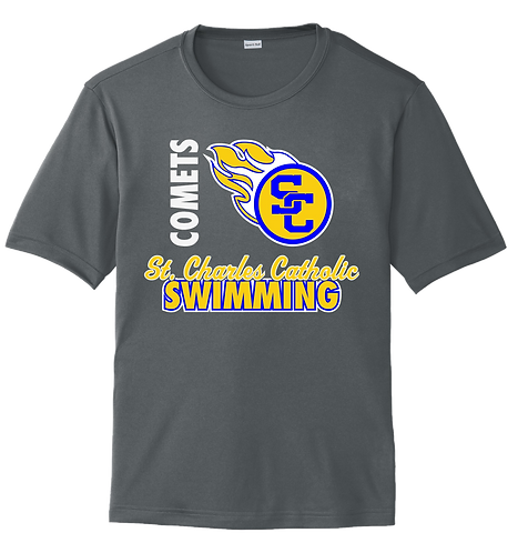 SCC Short Sleeve Dri-Fit Swim Tee