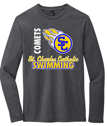 SCC Long Sleeve Swim Tee