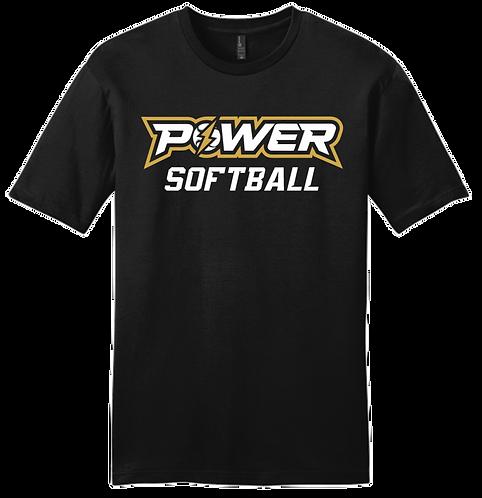 Power Softball SS Tee