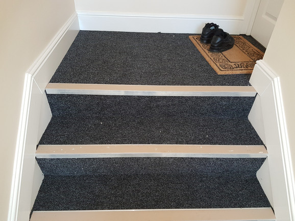 Contract carpet fitted to flats