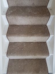Made to measure stair runner