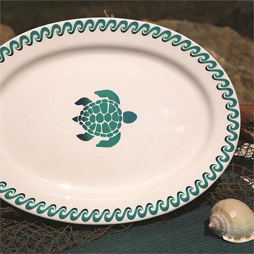Ombre Turtle Platter