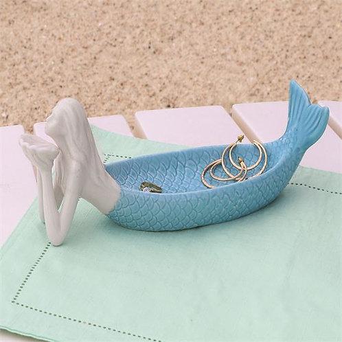 Embossed Mermaid Tray/Jewelry Holder