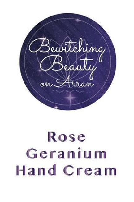 HAND CREAM HYDRATING HAND CREAM WITH ROSE GERANIUM
