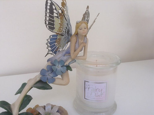 Lily-Flame Fairy Dust Candle Jar