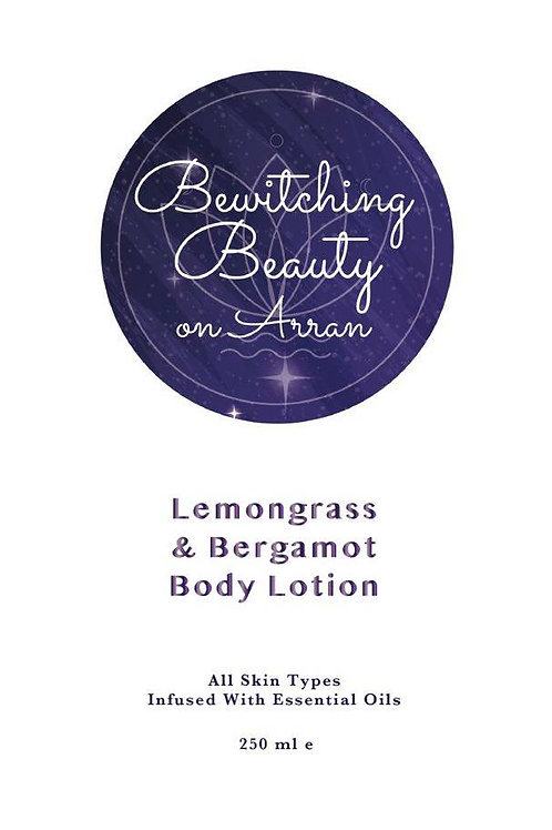 BODY LOTION LEMONGRASS AND BERGAMOT BODY MOISTURISER