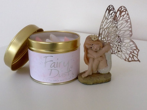 Lily-Flame Fairy Dust Candle Tin