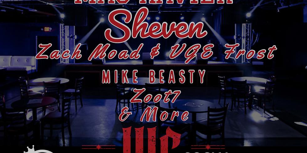 36 N BRIMSTONE | MAC XAVIER | SHEVEN | ZACH MOAD & UGE FROST | MIKE BEASTY | ZOOT7