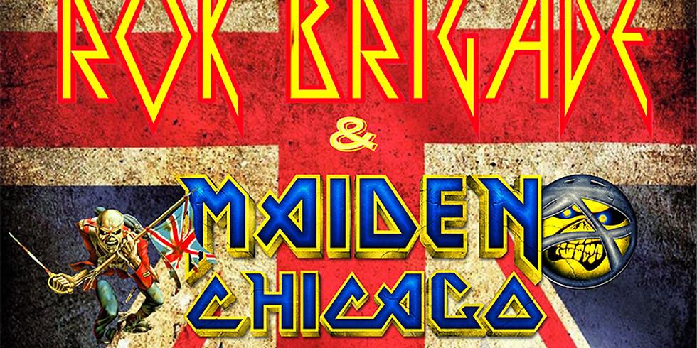 BRITISH INVASION NIGHT FT. ROK BRIGADE (Def Leppard tribute) & MADIEN CHICAGO (Iron Maiden tribute)