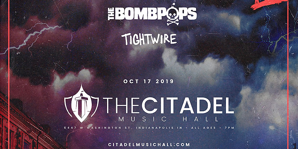 MASKED INTRUDER | THE BOMBPOPS | TIGHTWIRE
