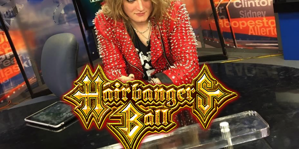 **POSTPONED** THE HAIRBANGER'S BALL PRESS CONFERENCE W/ MICK JAGER & FRIENDS
