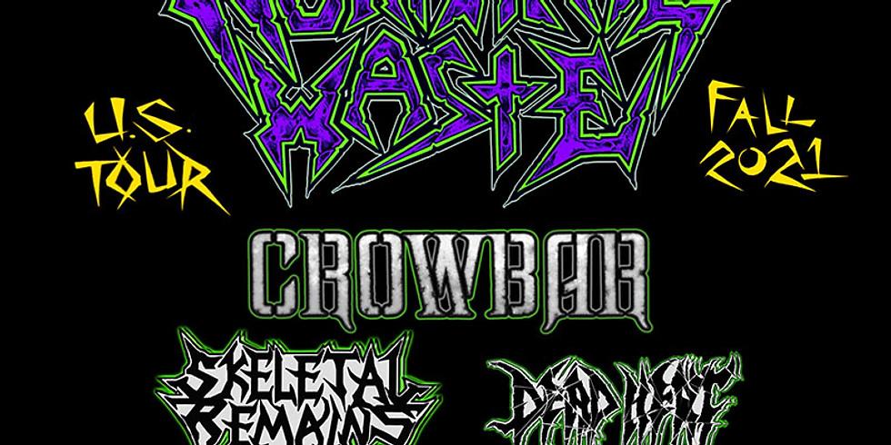 MUNICIPAL WASTE | CROWBAR | SKELETAL REMAINS | DEAD HEAT