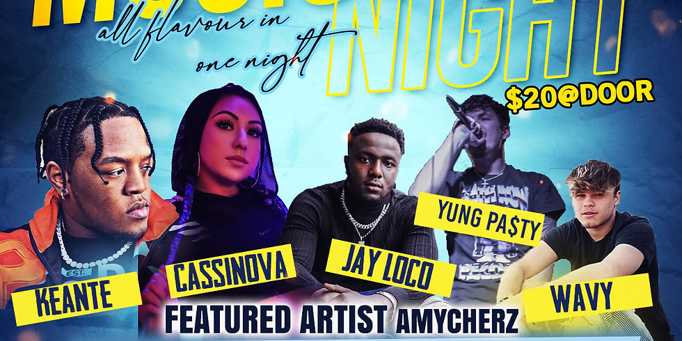 ANREAR PRESENTS DJ KARENNOID | KEANTE | CASSINOVA | JAY LOCO | WAVY | YUNG PA$TY