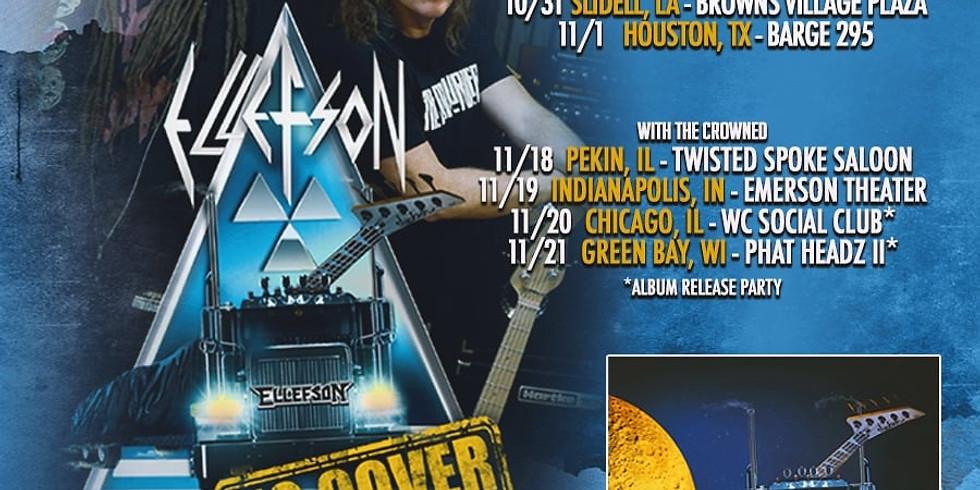 ELLEFSON (David Ellefson of Megadeth)  THE CROWNED | EYE OF MALICE