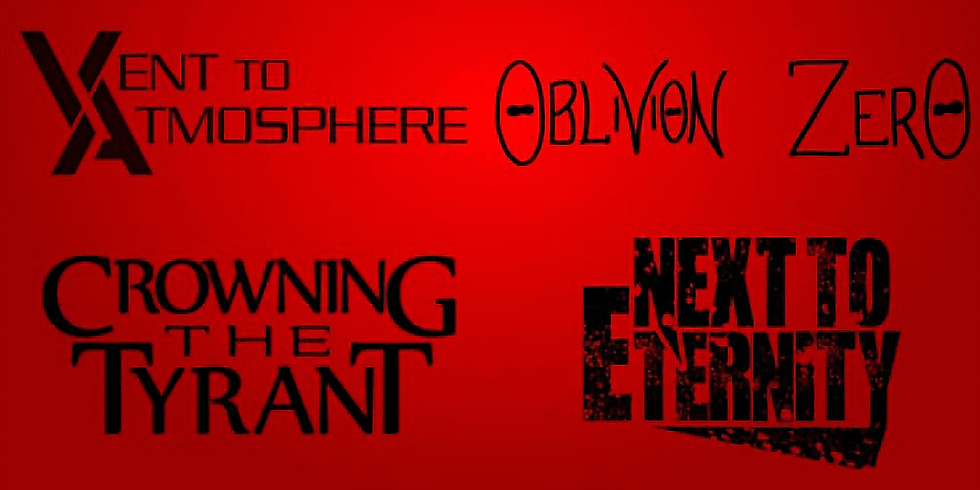 FACE THE FIRE | A SILENT TRUTH | VENT TO ATMOSPHERE | OBLIVION ZERO | CROWNING THE TYRANT | NEXT TO ETERNITY