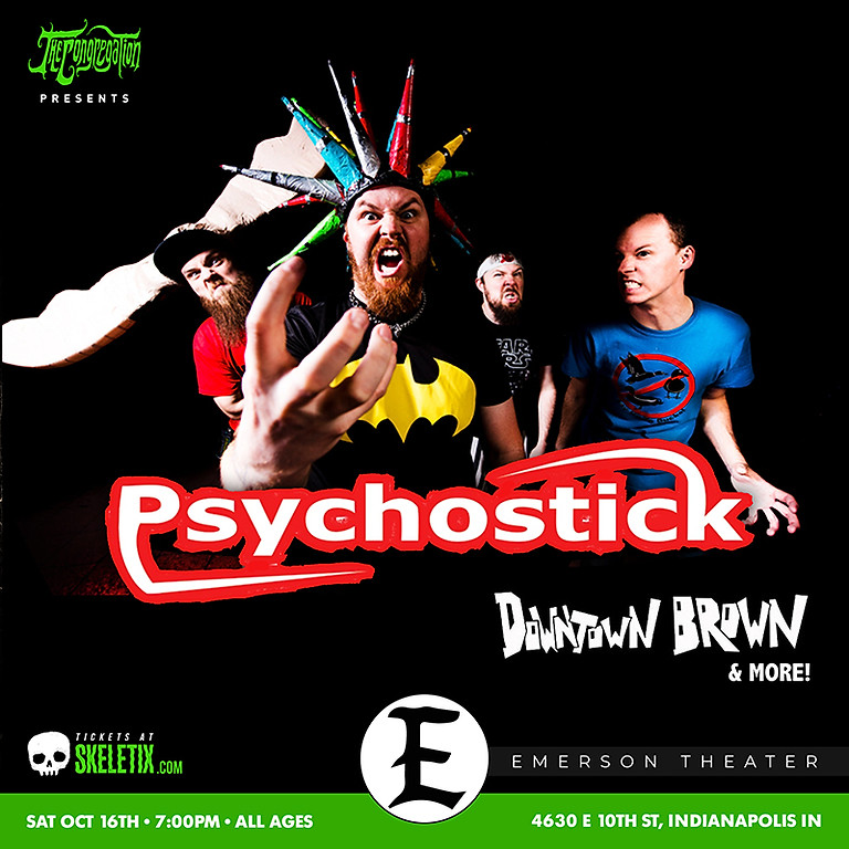 PSYCHOSTICK   DOWNTOWN BROWN