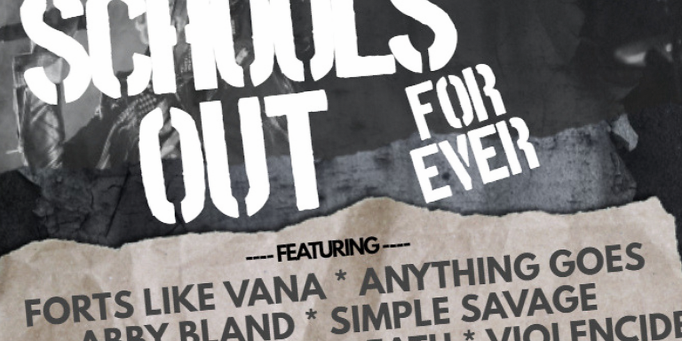 FORTS LIKE VANA | ANYTHING GOES | ABBY BLAND | SIMPLE SAVAGE | THE BENEFIT | LAST BREATH | VIOLENCIDE & more