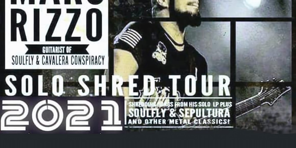 MARC RIZZO (of Soulfly) | DARKER THAN FICTION | RACHEL'S BULLY | MORTALITY OF MAN | BEFORE THE FIRE DIES