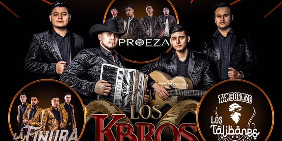 LOS K-BROS | LA FINURA | TAMBORAZO LOS TALIBANES | PROEZA