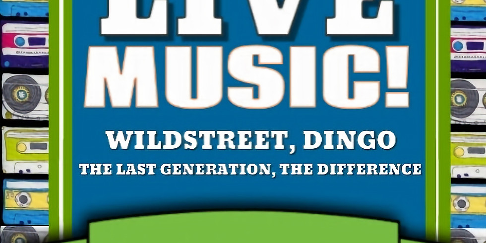 THE LAST GENERATION   THE DIFFERENCE   WILDSTREET   DINGO