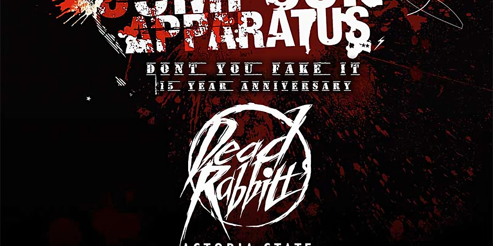 THE RED JUMPSUIT APPARATUS   THE DEAD RABBITTS   ASTORIA STATE