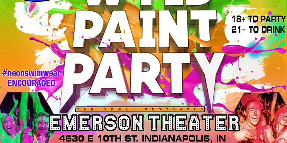 WYLD PAINT PARTY