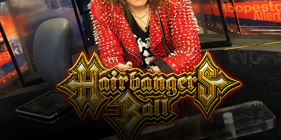 THE HAIRBANGERS BALL PRESS CONFERENCE W/ MICK JAGER AND FRIENDS