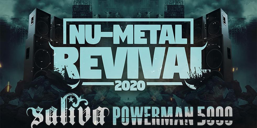 **POSTPONED** NU-METAL REVIVAL TOUR FT. SALIVA | POWERMAN 5000 | ADEMA | FLAW