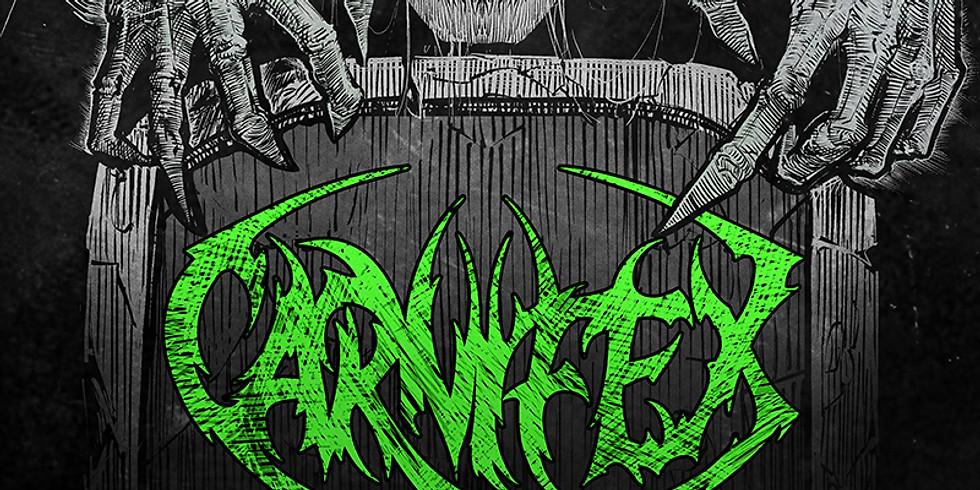 CARNIFEX | FLESHBORE | MANTRA OF MORTA | EYE OF MALICE