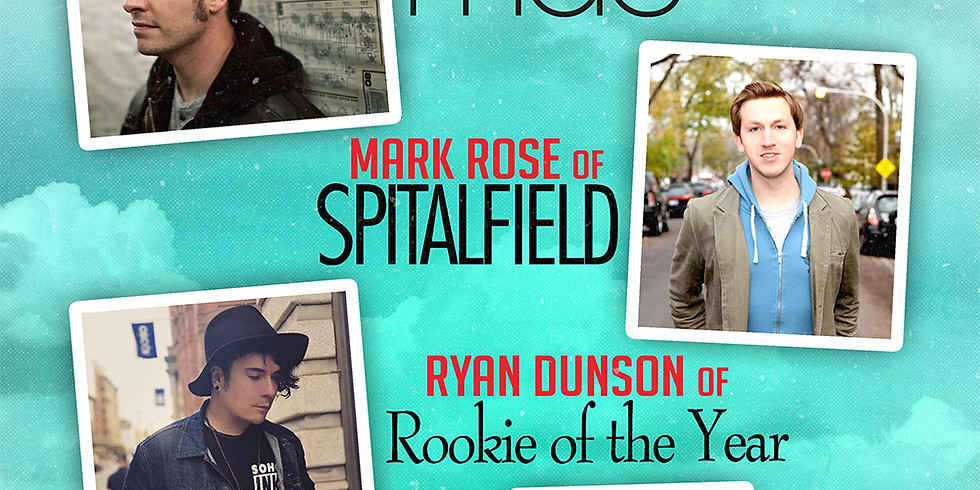 **CANCELED** CIRCLE OF STORIES TOUR FT DAVE ELKINS (MAE) | MARK ROSE (SPITALFIELD) | RYAN DUNSON (ROOKIE OF THE YEAR)