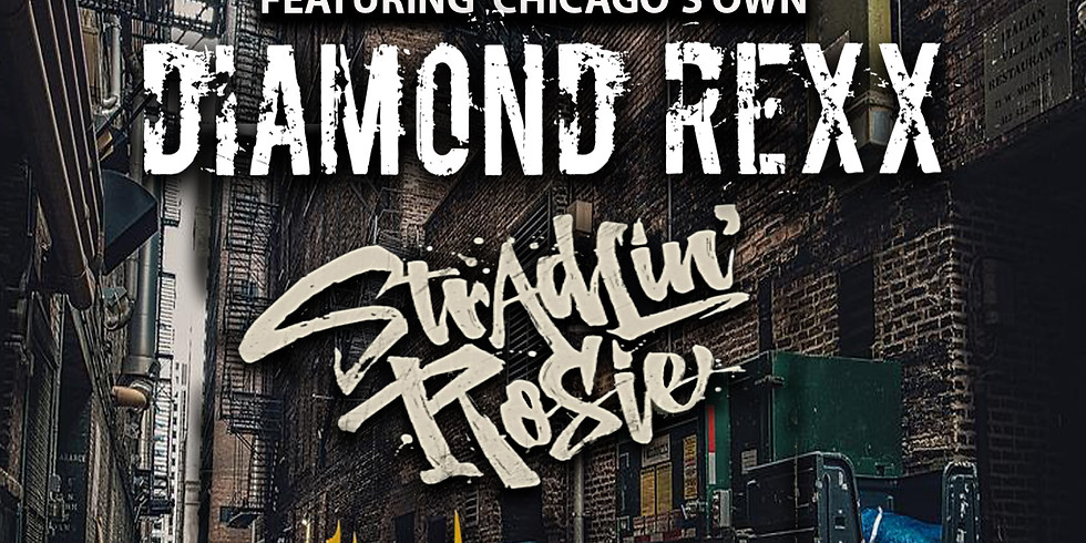 THE MOB RULES PRESENTS: DIAMOND REXX | STRADLIN' ROSIE | DITCHWATER