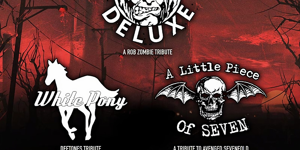 HELLBILLY DELUXE (Rob Zombie tribute) | WHITE PONY (Deftones tribute) | A LITTLE PIECE OF SEVEN (Avenged Sevenfold)