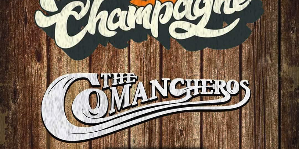 TENNESSEE CHAMPAGNE | THE COMANCHEROS | CULT COYOTE | BRADLEY ALLEN COCO | BROTHERS GIANT