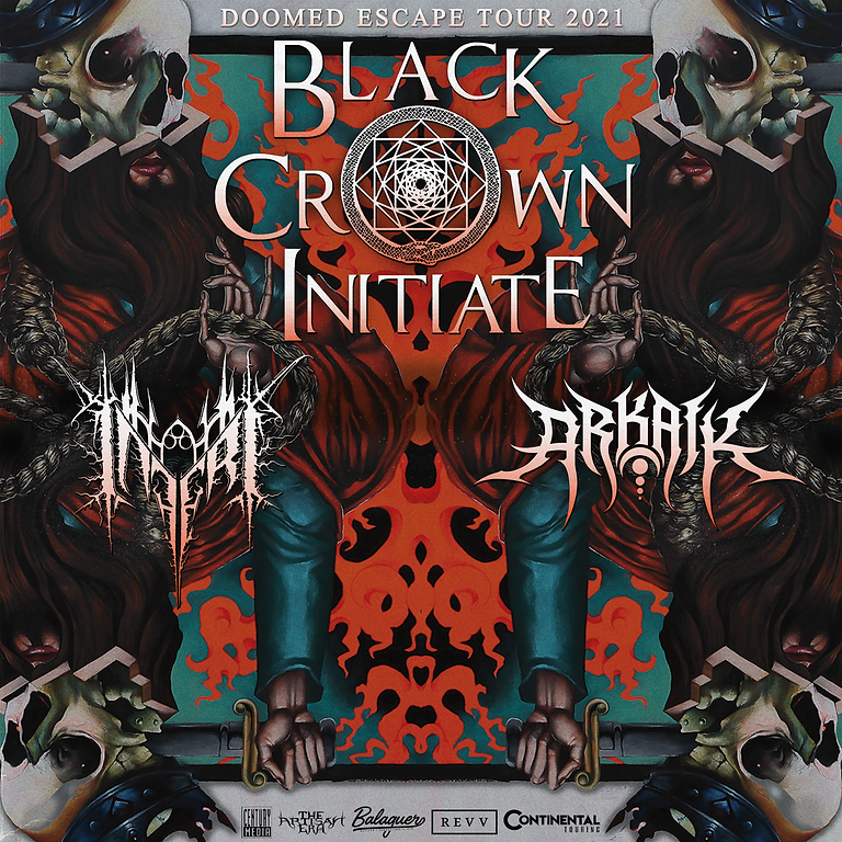 BLACK CROWN INITIATE | INFERI | ARKAIK | FROM THOSE ASHES | FURTHEST FROM THE LIGHT