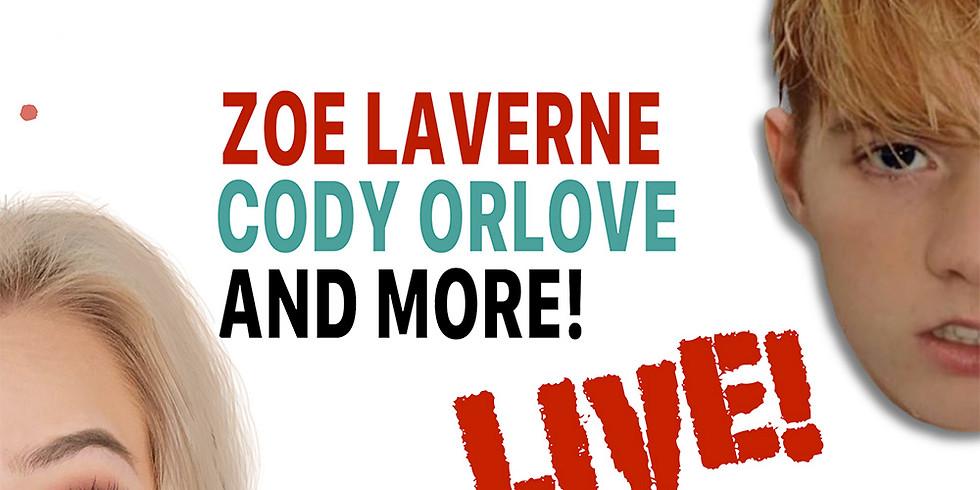 SOCIALS TOUR FT. ZOE LAVERNE & CODY ORLOVE